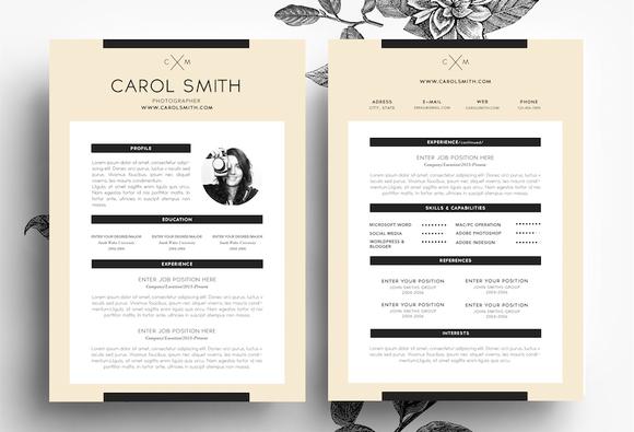 Creative CV Business Card Template