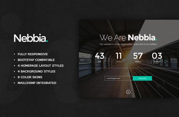 Nebbia Responsive Coming Soon