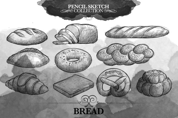 Sketch Collection Bread
