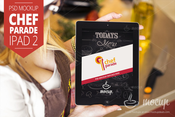 Chef Parade IPad 2 Mockup A