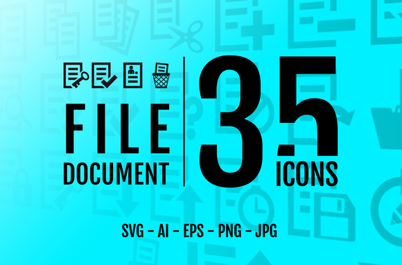 Document File 35 Icons