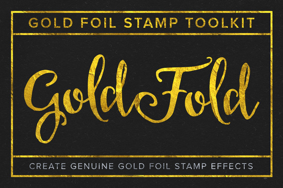 Gold Fold Gold Foil Stamp Toolkit