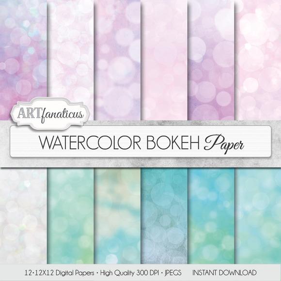 WATERCOLOR BOKEH