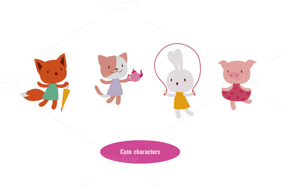 Baby Animals Characters