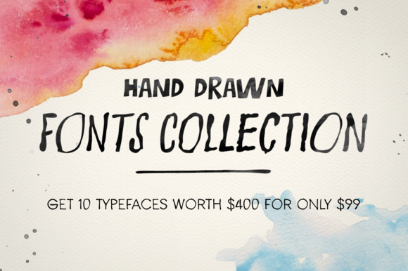 Hand Drawn Fonts Bundle