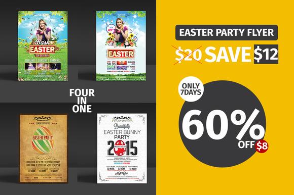 Easter Flyer Bundle 60%OFF