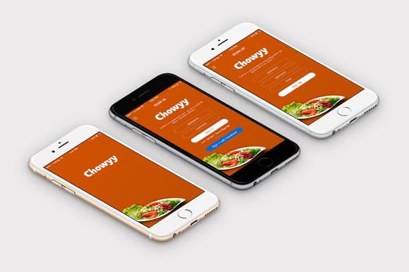Shop Food App Template