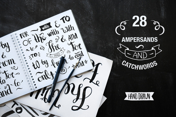 28 Ampersands And Catchwords
