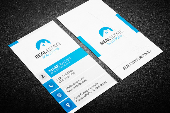 Real Estate Business Card 36