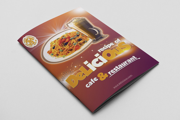 Cafe Restaurant Menu Pack 05