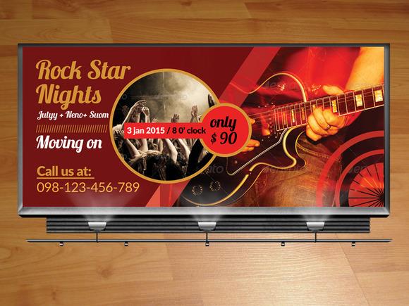 Concert Billboard Template