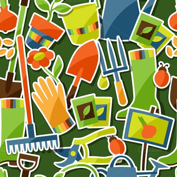 Patterns With Garden Stickers