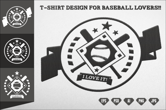 T-Shirt Design For Baseball Lovers