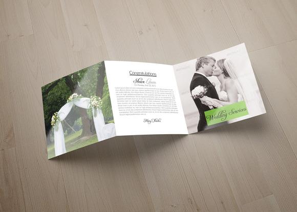 Wedding Tri Fold Brochure