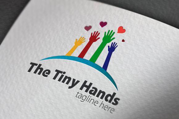 The Tiny Hands Logo