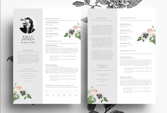 Resume Cover Letter PSD Word