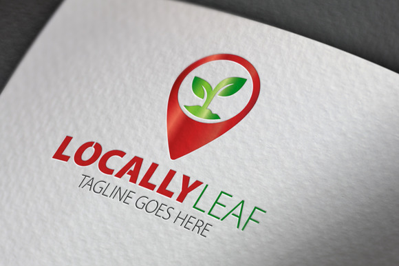 Locally Leaf Logo