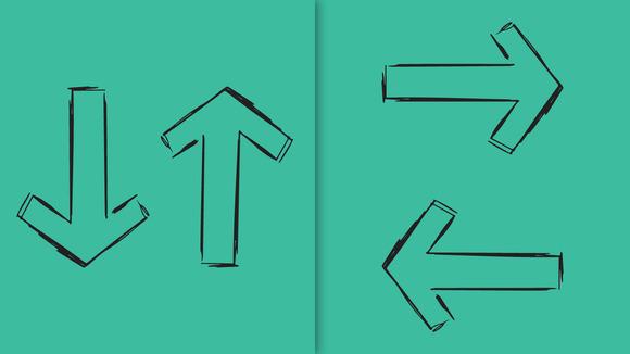 Simple Sketched Arrows