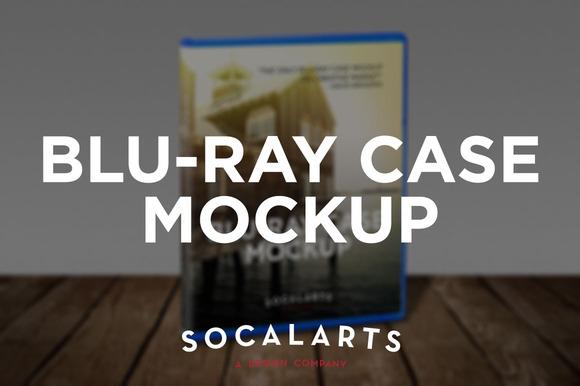 Blu-ray Case Disc Mockup