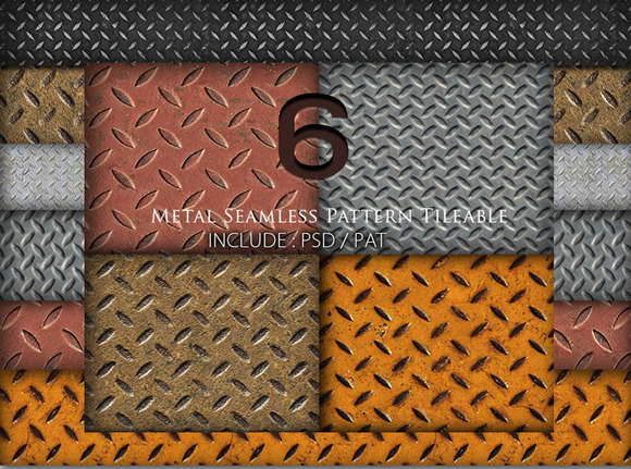 Metal Seamless Pattern
