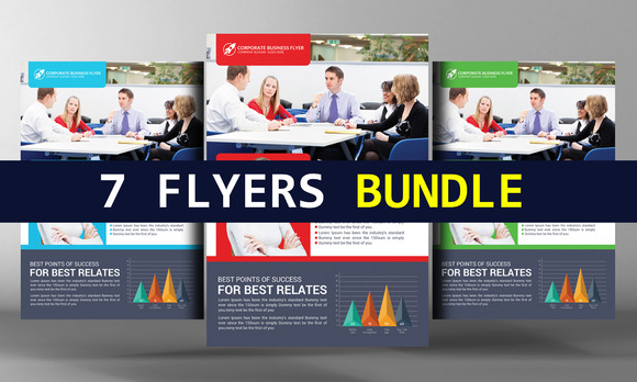 7 Corporate Business Flyers Bundle