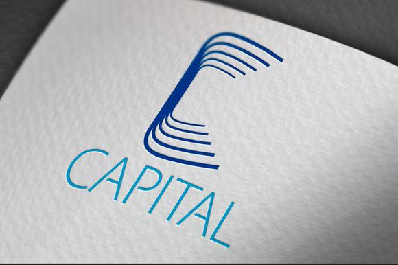 Capital C Letter Logo