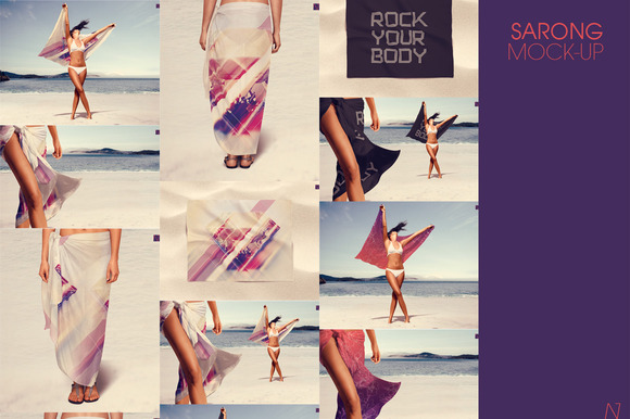 SARONG MOCK-UP
