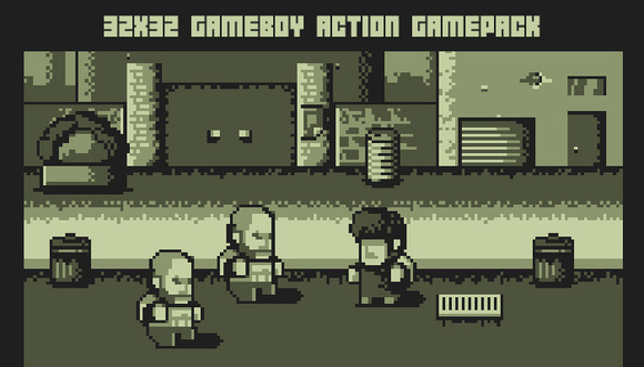Gameboy Action Game Pack 4