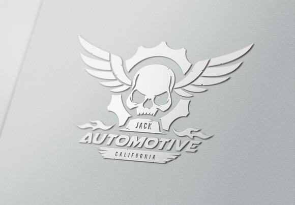 Automotive Skull
