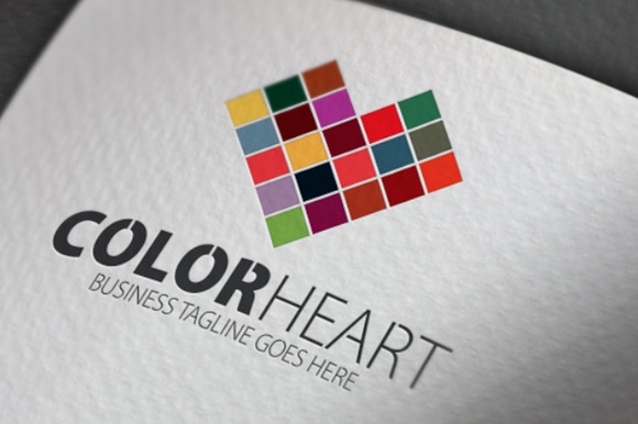 Color Heart Logo