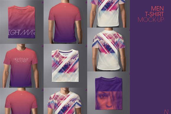 MEN T-SHIRT MOCK-UP