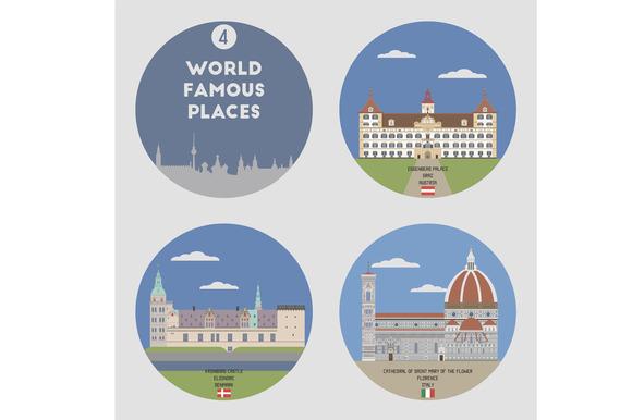 World Famous Places Set 4