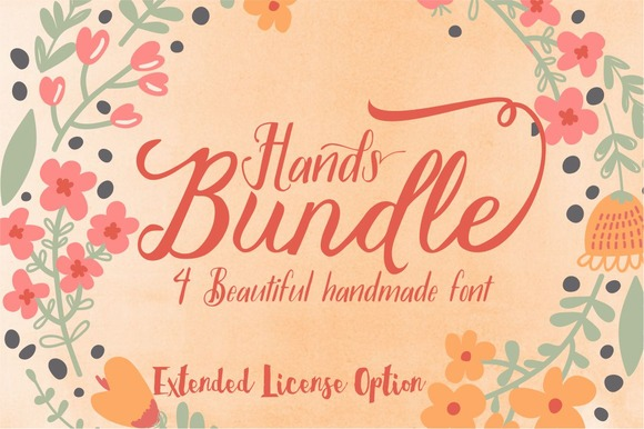 Hands Bundle Extended License