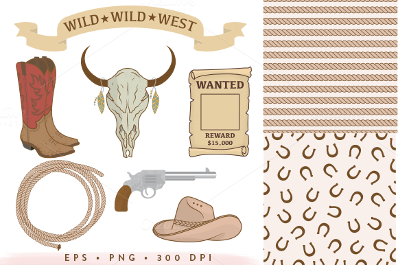 14 Rodeo Collection EPS PNG