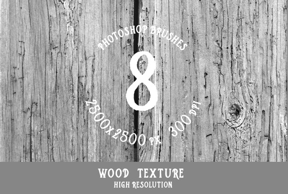 PS Brushes Wood Texture