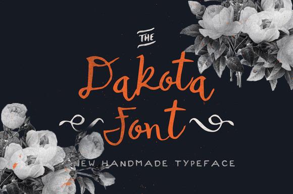 Dakota Font Bonus