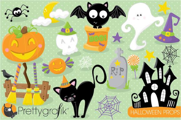 Halloween Props Clipart