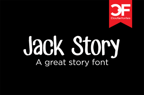 CF Jack Story Font