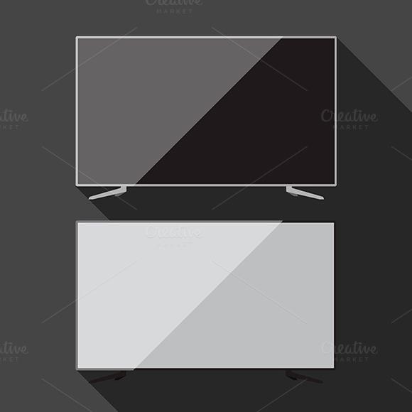 Smart Tv Vector