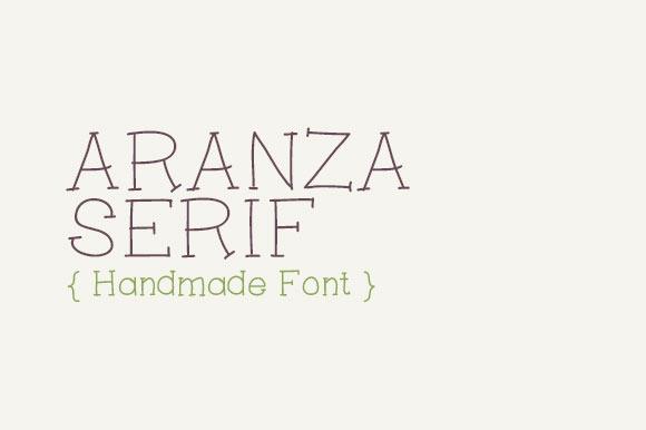 Aranza Serif