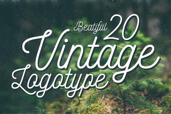 20 Vintage Logotype #2