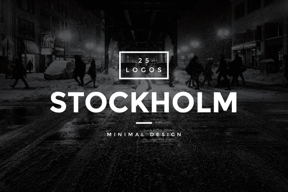 Stockholm 25 Modern Vintage Logos