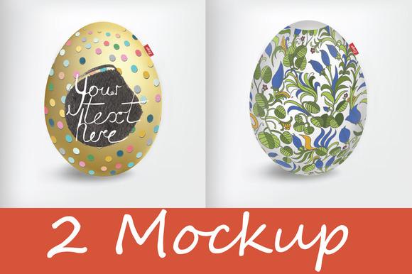 Easter Egg Mockup