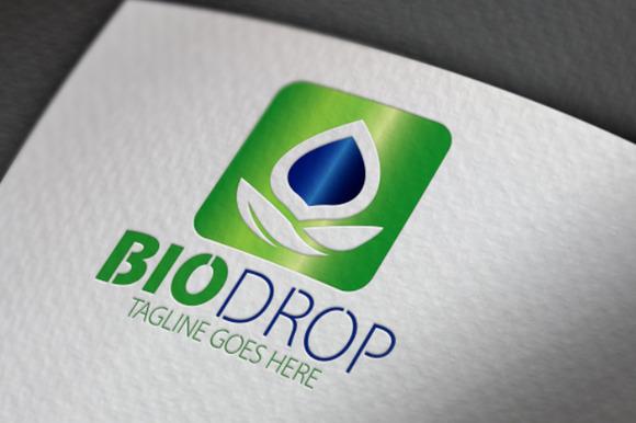 Bio Drop Logo