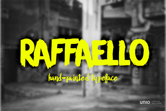 Raffaello Typeface