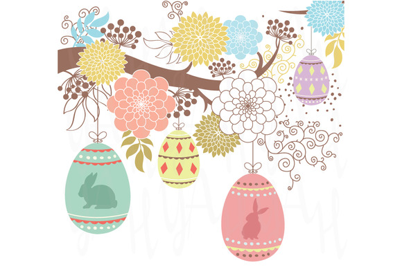 Happy Floral Easter