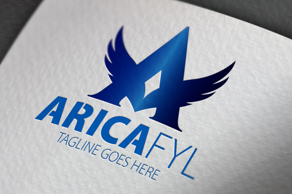 Arica Fly A Letter Logo