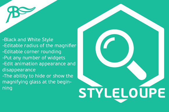 Widget StyleLoupe Adobe Muse