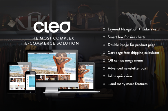 Cleo Responsive Magento Template