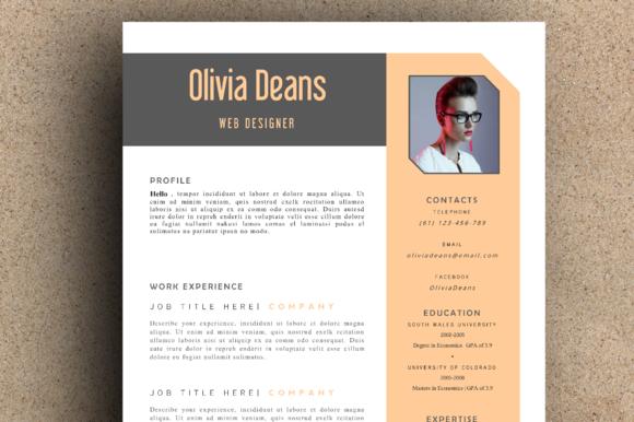 The Olivia Resume Pack